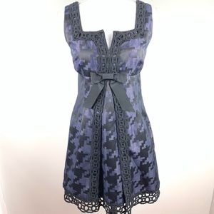 Anna Sui for Target Houndstooth Jacquard Dress 7